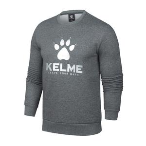 KELME卡尔美男款运动休闲圆领套头卫衣3671012
