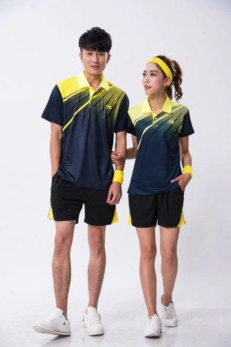 速干乒乓球服羽毛球服男女同款1713-1715