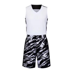 乔丹彩印光板篮球服个性定制球衣VT6329