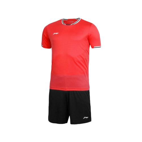 LINING李宁成人足球服短袖套装 有童款AATL103