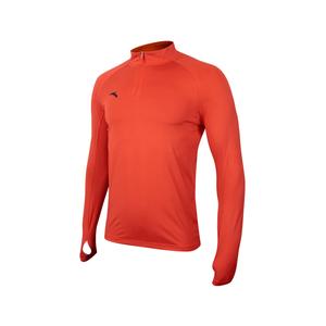 ANTA安踏男士训练长袖上衣足球训练套头衫带拇指扣45742431