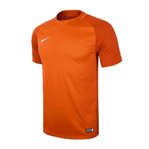 Nike耐克运动速干t恤光板定制短袖球衣足球训练服881483