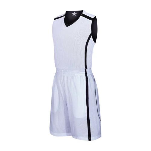 V领双面篮球服运动背心训练比赛队服VT6308