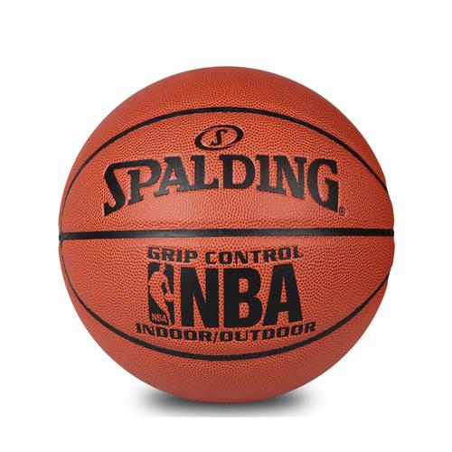 SPALDING斯伯丁NBA经典掌控室内室外PU篮球74-604Y
