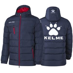 KELME卡尔美儿童中长款足球运动棉服外套K15P014-2