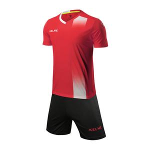 KELME卡尔美男款短袖足球服套装比赛定制球服3881020