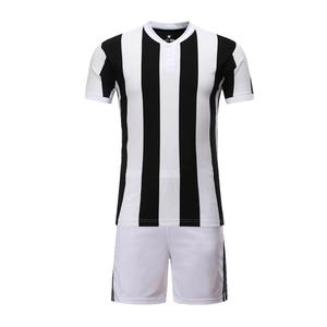 17-18赛季尤文图斯主场空白足球服套装