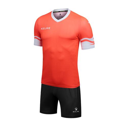 KELME卡尔美青少年透气足球服套装短袖873001