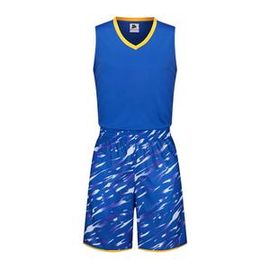 迷彩篮球服套装光板运动背心训练服VT6312