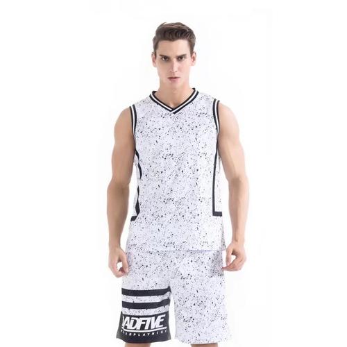 CUBA大学生联赛款篮球服个性球衣训练服VT7305