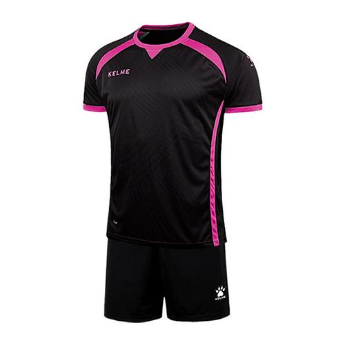 KELME卡尔美男子足球服套装短袖光板定制K15Z211