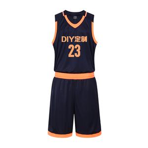 篮球服套装全明星男款比赛篮球队服VT6501