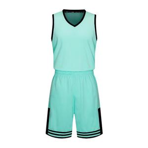 全明星光板篮球服套装男 VT1863