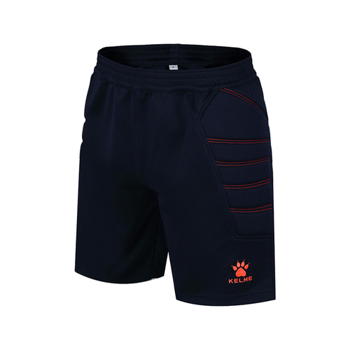 KELME卡尔美男款足球守门员中长裤带护侧K15Z408