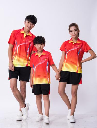 速干男女儿童乒乓球服羽毛球服套装1716-1717-1718