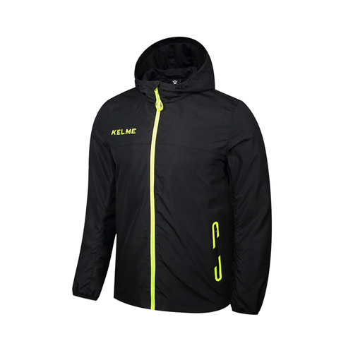 KELME卡尔美男士运动风雨衣足球训练外套3871310