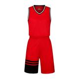 专业比赛个性接拼篮球服套装 VT1861