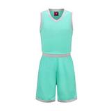 光板定制V领篮球服套装男多色球衣 VT1833