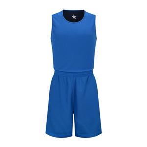 光板双面篮球服运动背心VT5342
