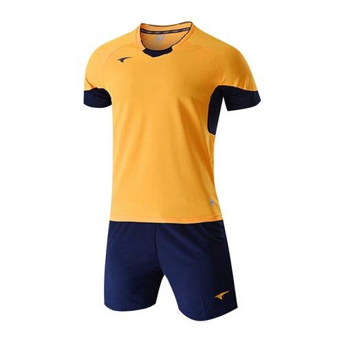 UCAN锐克童款足球服组队比赛服定制套装短袖SS6422