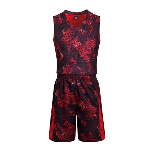 蟒纹篮球服套装 VT627