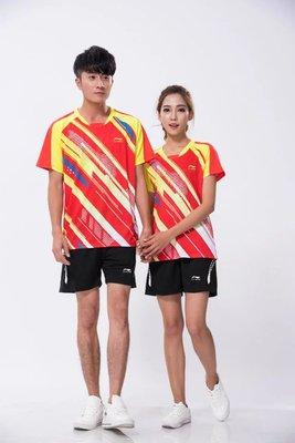 男女款羽毛球服乒乓球服透气快干运动套装1729-1730