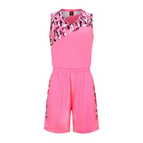 篮球服套装迷彩背心 VT1836