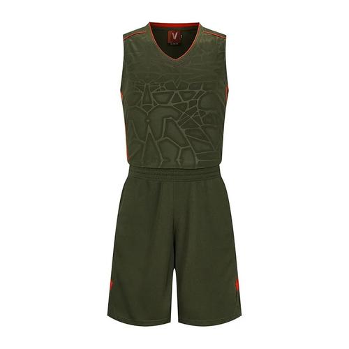 大码篮球服套装光板训练运动服 VT1850