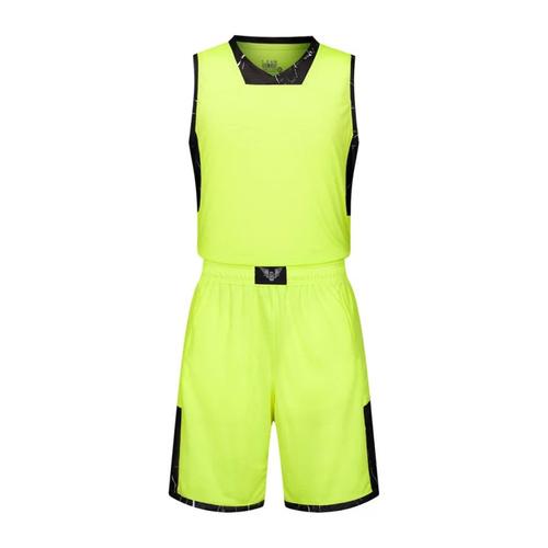 专业比赛撞色V领篮球服套装 VT1858