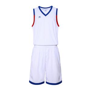 V领光板篮球服套装运动背心男VT6555