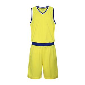 儿童V领空白篮球服青少年运动背心VT6651