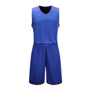 专业比赛梦十一篮球服套装男光板 VT813