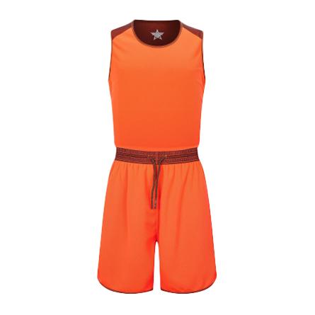 双面接拼个性篮球服套装网孔透气球衣VT53107