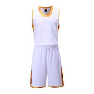 拼色V领篮球服套装男 VT812