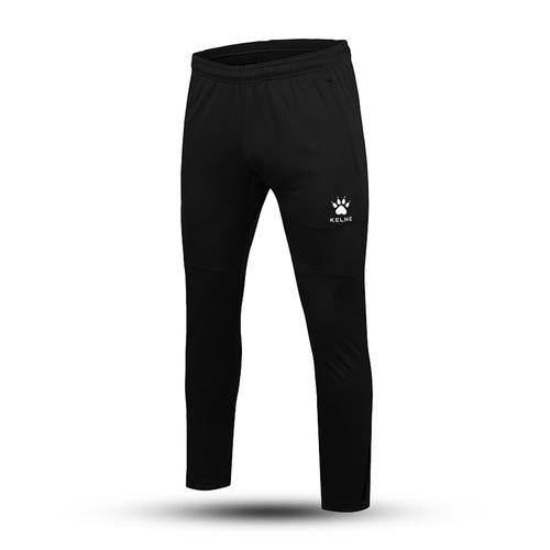 KELME卡尔美男足球训练裤运动加绒收腿裤K15Z406
