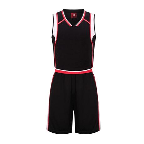 黑子篮球服套装男定制光板 VT1812