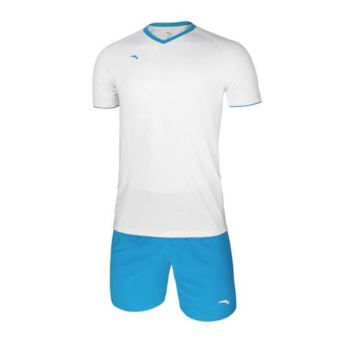 ANTA安踏足球短袖套装光板组队球衣45732203