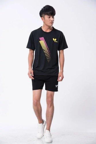 吸湿排汗乒乓球服羽毛球服套装男款817