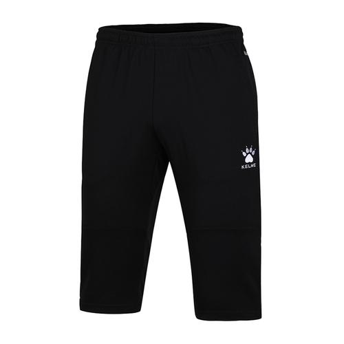 KELME卡尔美男足球训练中裤休闲七分裤 K15Z432