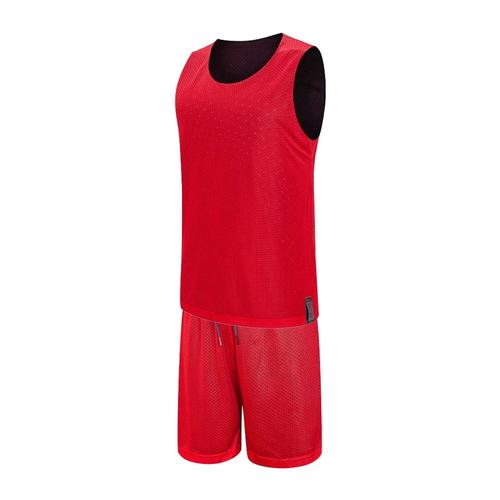 网孔双面透气篮球服套装运动背心VT53108