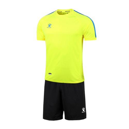 KELME卡尔美足球服套装 光板短袖队服K15Z201