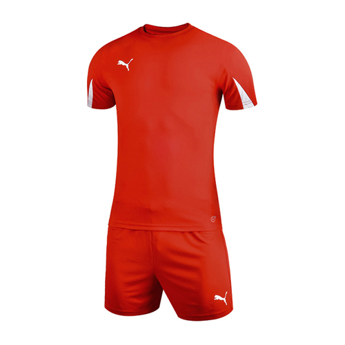 Puma彪马儿童青少年短袖足球队服套装