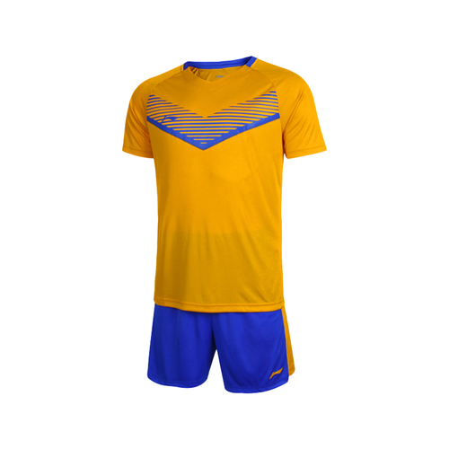 LINING李宁儿童青少年足球服短袖套装AATL388