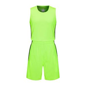 篮球服套装竹棉纤维双面球服透气舒适球衣VT63602