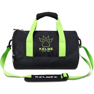 KELME卡尔美单肩包男斜跨运动健身包圆桶包K15S937