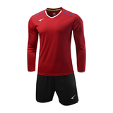 UCAN锐克男款长袖足球服套装比赛服 SB5568