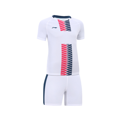 LINING李宁短袖足球服套装萤火虫系列球衣AATL101