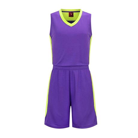 篮球服套装男组队光板运动背心 VT1832