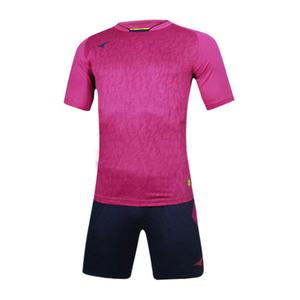 UCAN锐克光板足球训练服套装短袖男组队比赛修身款S06101