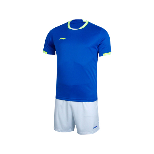 LINING李宁儿童青少年足球服短袖套装AATL378